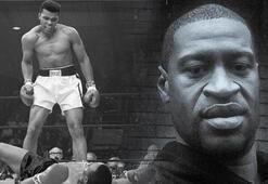 Muhammed Aliden George Floyda ABDde ırkçılık: Bana alışından Nefes alamıyoruma...
