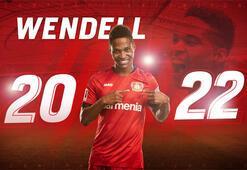 Bayer Leverkusen, Wendell'in sözleşmesini 2022'e kadar uzattı