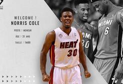 ASVEL, ABDli basketbolcu Norris Cole ile anlaştı