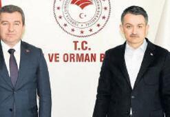 Koştu, Ankara'dan müjdelerle döndü