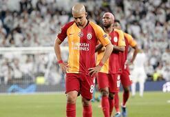 Son dakika | Galatasarayda Feghouli ile yollar ayrılıyor Cezayirli yıldızın yeni adresi...