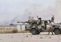 Son dakika... Libya ordusu Ayn Zara ve Vadi er-Rebi bölgelerini Hafter milislerinden geri aldı
