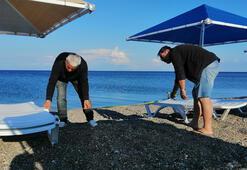 Assos sahillerinde tedbirli turizm sezonu hazırlığı