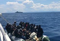 Son dakika Yunanistanın ölüme terk ettiği 85 kaçak göçmen kurtarıldı