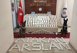 Kireç önleyici ürün paketlerinin içinde 82 kilo eroin ele geçirildi