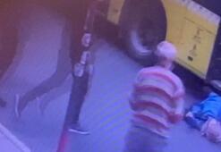 Son dakika... Maltepede otobüsten inmeye çalışan kadın kapı çarpınca düştü