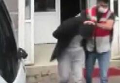 İstanbulda yakalandı Yüzünde yara izi olan...