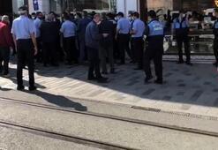 Son dakika...  İstiklal Caddesinde gerginliğe neden olan takın iki ayağı da kaldırıldı