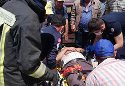 Denizlide iki otomobil çarpıştı: 5 yaralı