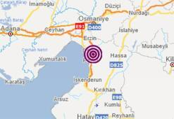 Son dakika... Hatayda korkutan deprem