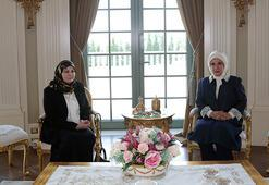 Emine Erdoğan, Sarracın eşi Nadia Reffat ile bir araya geldi