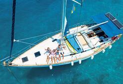 Mesafeli tatile yelken açın