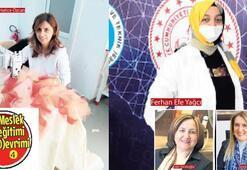 Pandemi mücadelesinin kahramanları anlatıyor: Üretmek mutluluk verdi
