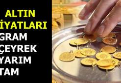 Gram altın fiyatı kaç TL Altın fiyatları geriledi