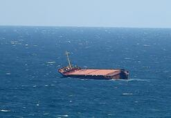 İrana ait yük gemisi Irak karasularında battı