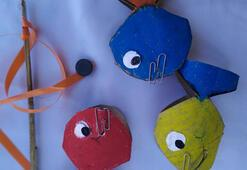 Duyusal oyun: Göldeki balıklar
