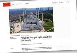 Economist dergisi Türkiyenin corona virüsle mücadele stratejisini övdü