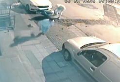 Şehrin merkezinde dehşet Kameralara böyle yansıdı...
