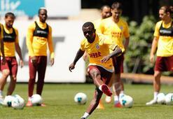 Galatasaray orta, şut ve bitiricilik çalıştı