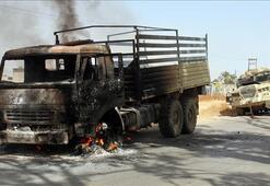 Son dakika... Libyada Haftere bir darbe daha: Kenti terk ettiler