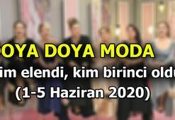 Doya Doya Moda yarışmasında bu hafta kim elendi 5 Haziran günü o isim gitti...