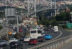 Son dakika... İstanbulda cuma trafiği yoğunluğu İşte son durum...