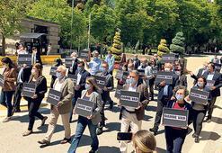 HDP'li vekiller  Güvenpark'a yürüdü
