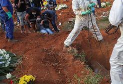 Son dakika... Corona virüs nedeniyle son 24 saatte Brezilyada 1026, Meksikada 625 kişi öldü
