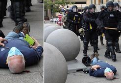 Son dakika... George Floyd protestosundaki görüntüler depreme yol açmıştı... Flaş gelişme