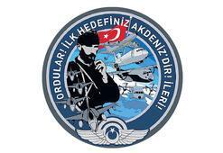 Mehmetçik'e Akdeniz için  anlamlı arma