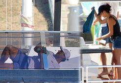 Rafael Nadal milyarlık yatı kendi elleriyle temizledi