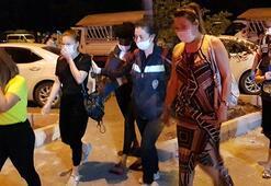 Son dakika...Çalışma izni olmayan yabancı uyruklu 19 masöze 82 bin TL ceza