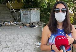 İstanbulda pes dedirten görüntü Çöplerini bırakıp gitmişler
