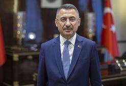 Fuat Oktay, Güney Kıbrısta camiye Bizans bayrağı asılmasını kınadı