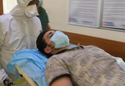 Sağlık Bakanı Koca devreye girdi Omurgası kırılan genç Türkiye'ye getirildi