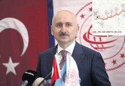 İzmir-Antalya arası 3 saate iniyor