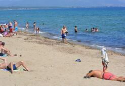 Ayvalıkta deniz ve plaj sezonu açıldı