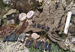 Diyarbakırda PKKnın lav silahı ve uyuşturucu ele geçirildi
