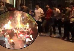 İstanbulda akılalmaz görüntüler Sosyal mesafeyi unutup asker uğurladılar