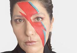 Şebnem Bozokludan David Bowie makyajı