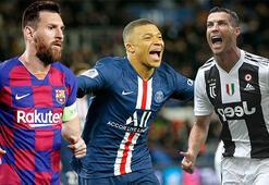 Futbol dünyasının en değerlisi Mbappe oldu Ronaldo ve Messi...