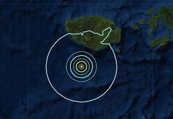 Endonezyada 5.6 büyüklüğünde deprem