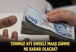 Emekli temmuz maaş zammı ne kadar olacak 2020 SSK ve Bağkur emekli maaş zammı açıklandı mı