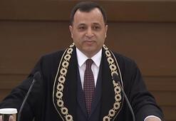 Anayasa Mahkemesi Başkanı Arslan, AYMdeki yemin töreninde konuştu