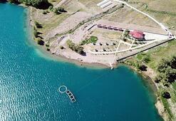 Bitlisteki Aygır Gölü, bungalov evleri ve kamp alanlarıyla  doğaseverleri bekliyor