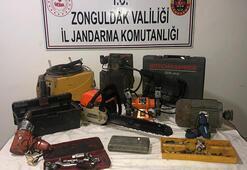 Jandarma, 2 yıl önceki hırsızlık olayının zanlısın yakaladı