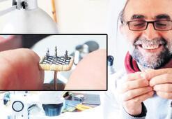 Mercimek kadar  satranç takımı