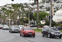 Bodruma 10 günde 500 bin araç girdiği iddia edilmişti... Valilikten açıklama geldi