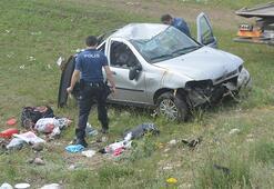 Son dakika...Ağrıda feci kaza Aynı aileden 4 kişi yaralandı