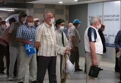 65 yaş üstü vatandaşlar için yasak kalktı Oraya akın ettiler